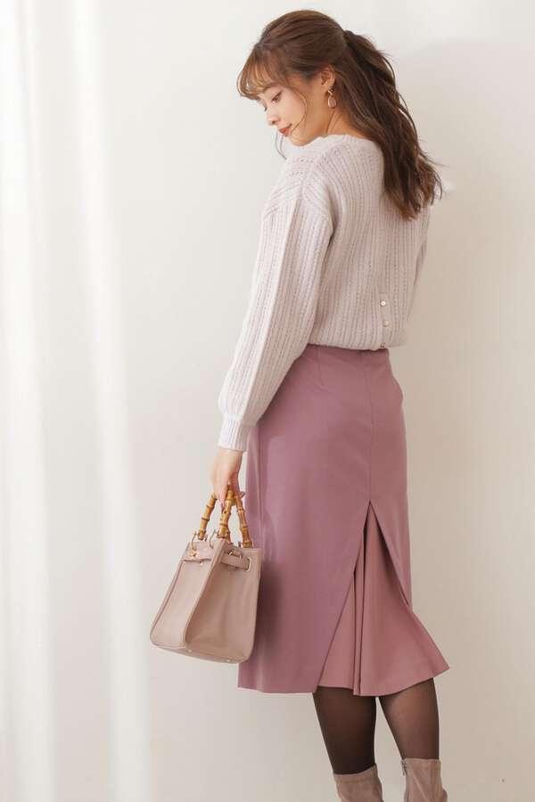 バックシャンタイトスカート