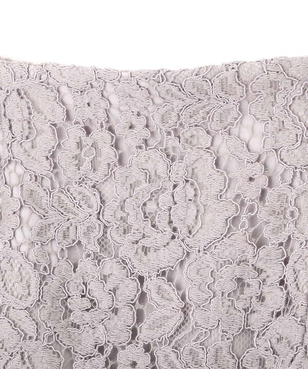 ナローレーススカート・WEB限定カラー:ミント