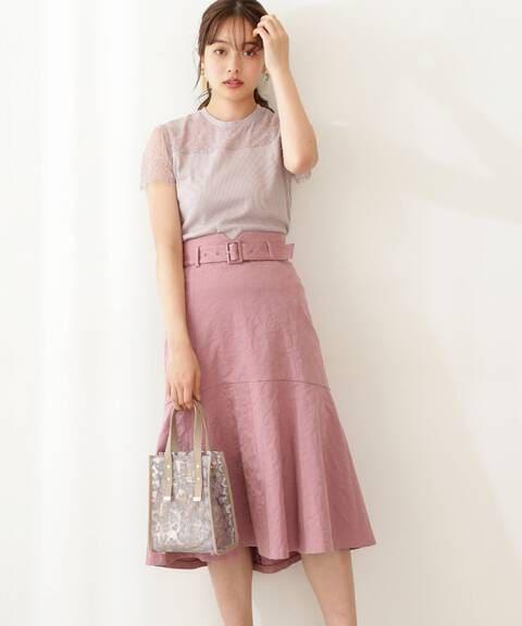 リーフジャガードマーメイドスカート
