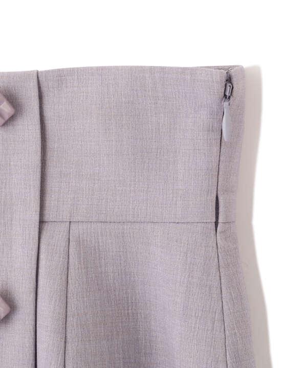 【美人百花5月号 掲載商品】バックデザインタイトスカート