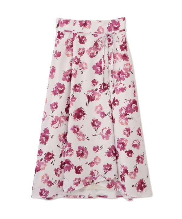フラワーアシメスカート