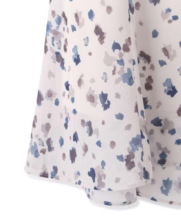 ブラーリーマーメイドスカート WEB限定カラー:ベージュ