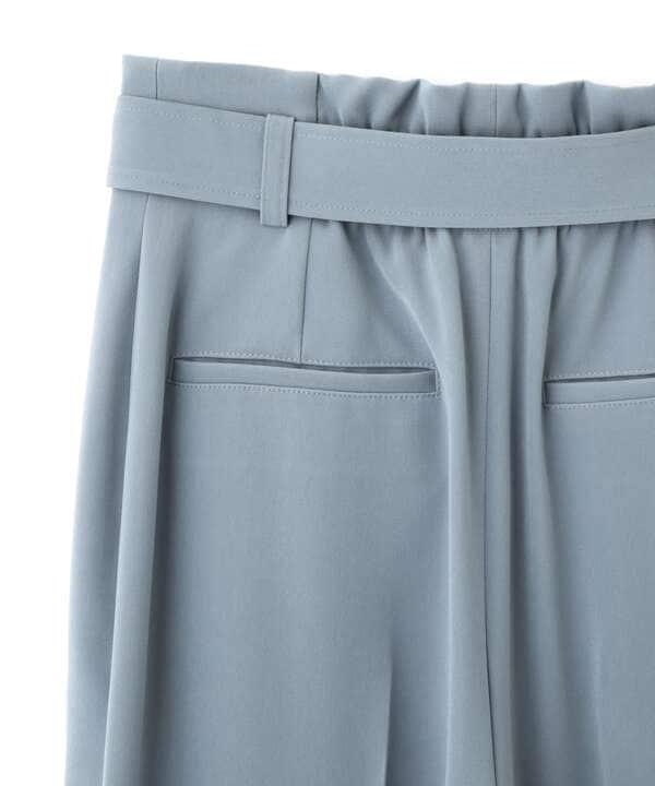 【美人百花5月号 掲載商品】センタータックパンツ