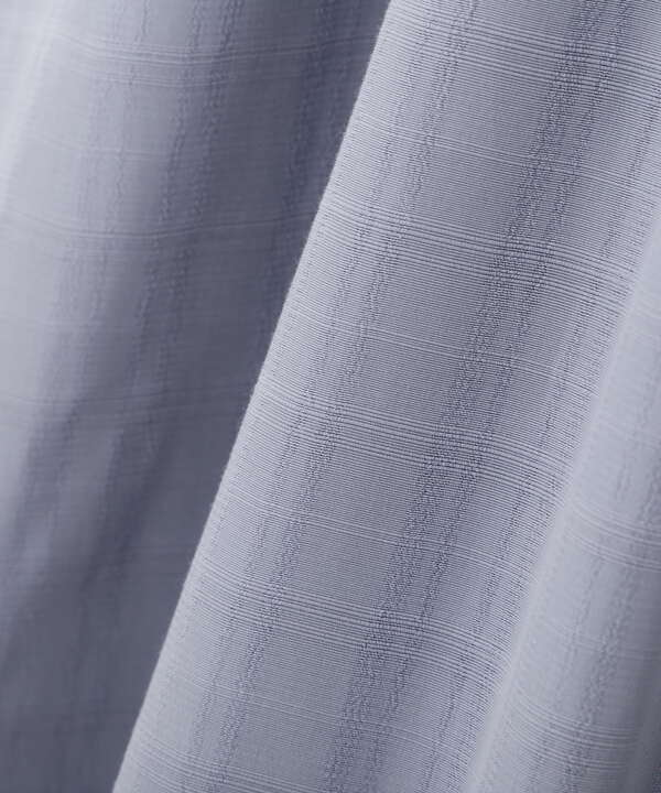 【美人百花5月号 掲載商品】ボリュームスリーブチェックジャガードワンピース