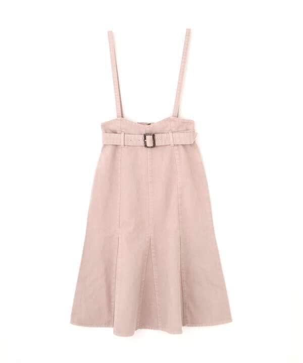【美人百花5月号 掲載商品】カラーマーメイドジャンパースカート