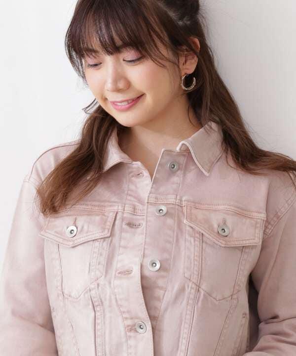 カラーデニムジャケット