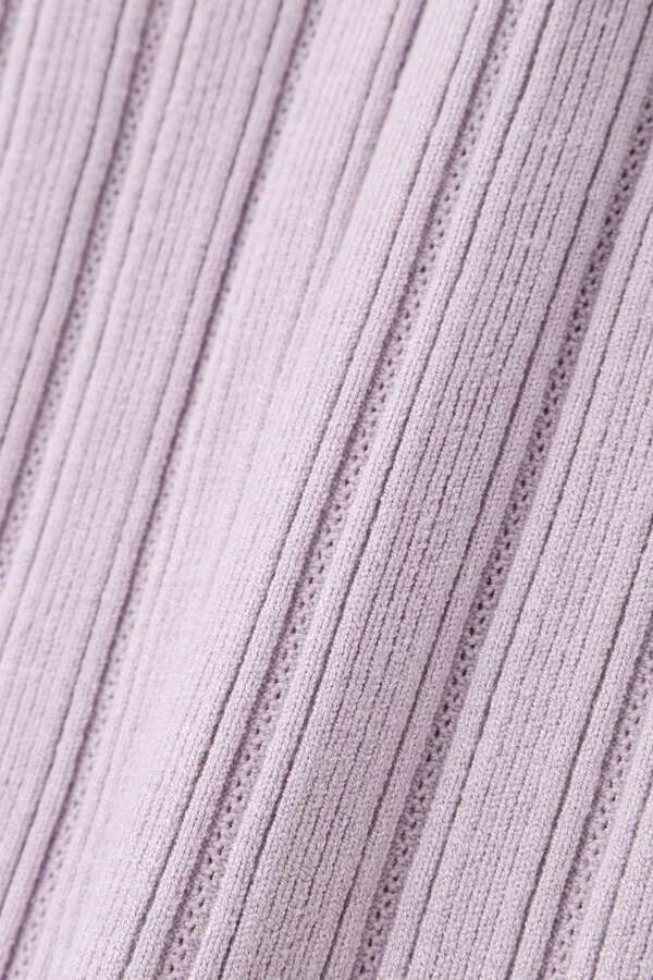 スリーブデザインニット:ダスティブルー・WEB限定カラー