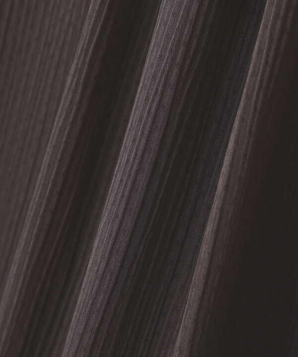 楊柳ドットブラウス WEB限定カラー:ダスティーブルー