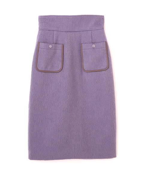 【先行予約11月上旬-11月中旬入荷予定】フロントポケットタイトスカート