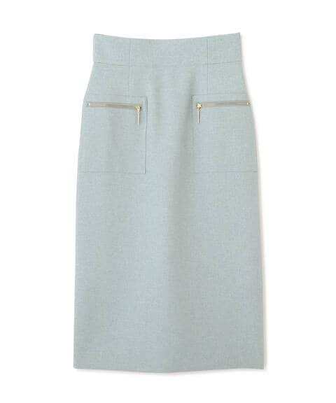 【先行予約5月下旬-6月上旬入荷予定】サイドポケットタイトスカート