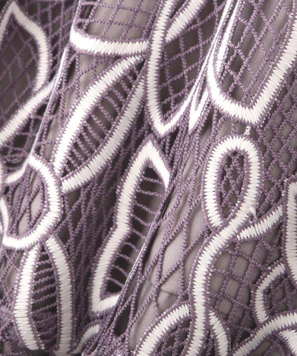 マーメイドバイカラーレーススカート