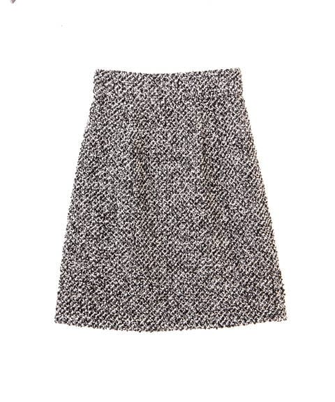 【先行予約11月中旬-11月下旬入荷予定】ループカルゼ台形ミニスカート