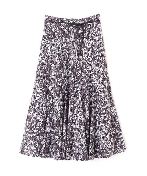 【先行予約9月上旬-9月中旬入荷予定】blur zebraマーメイドスカート