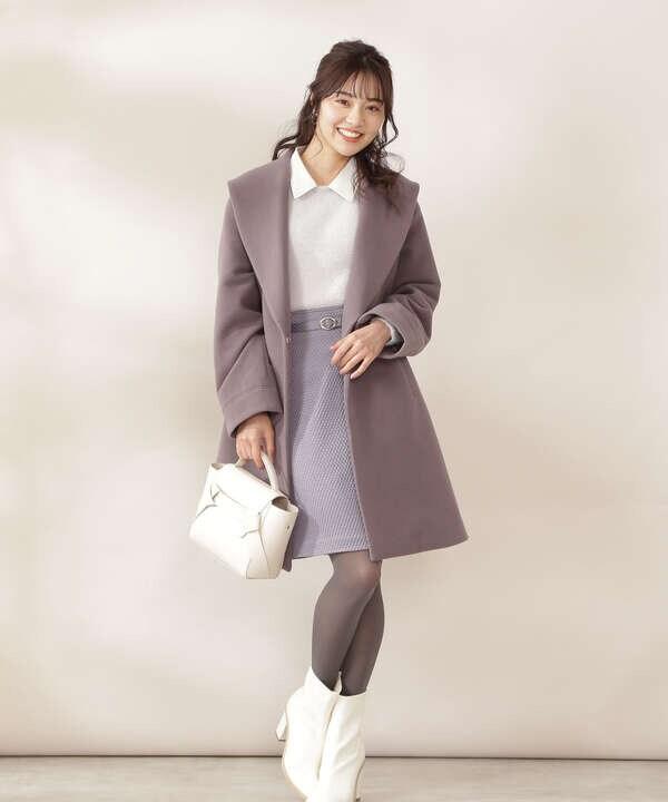 【美人百花10月号 掲載商品】マトラッセミニスカート