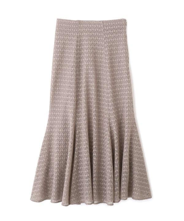 《EDIT COLOGNE》ジャージレースマーメイドスカート