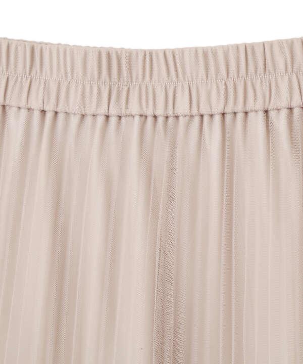 《EDIT COLOGNE》チュールプリーツスカート