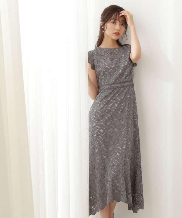 《Lou Lou Fee》レースタイトドレス