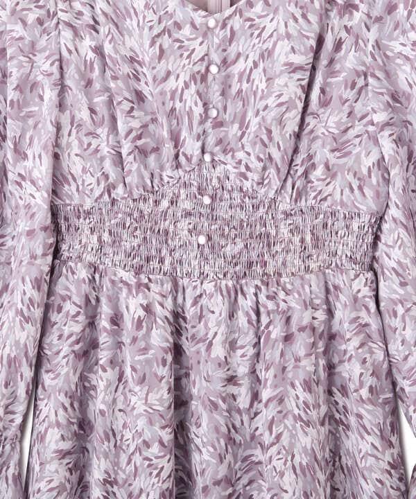 blur zebraワンピース