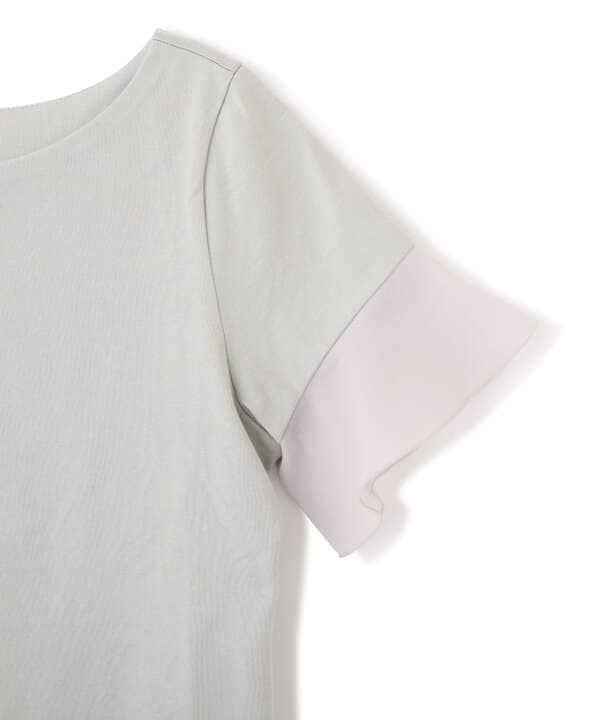 ラッフルスリーブTシャツ