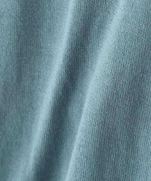 メタル釦クルーカーディガン<ウォッシャブル・UV機能付き>