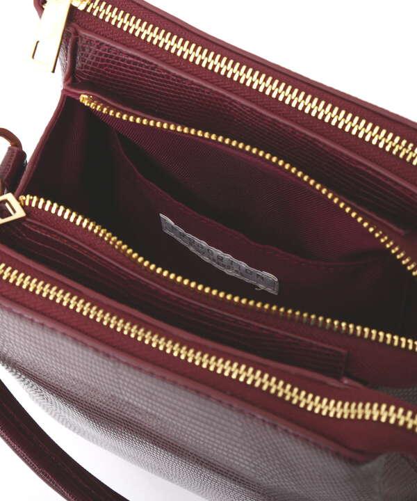 【堀田茜さん着用 美人百花11月号 掲載商品】リザードポケットバッグ