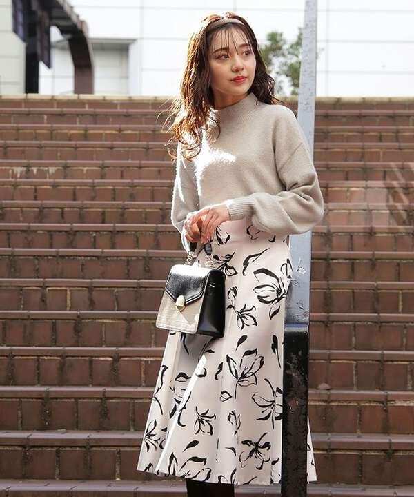 【堀田茜さん着用 美人百花11月号 掲載商品】フェイクベロアカチューシャ