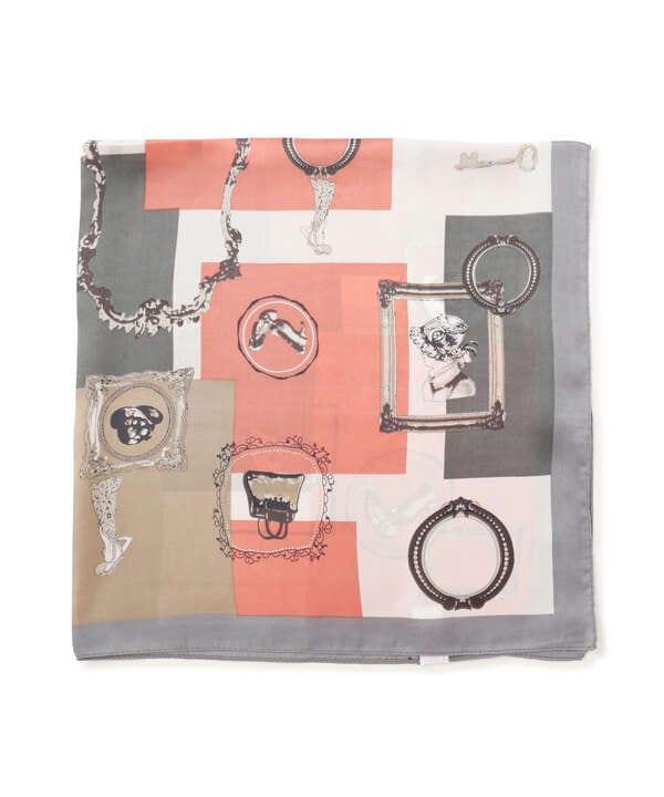 レトロモチーフスカーフ