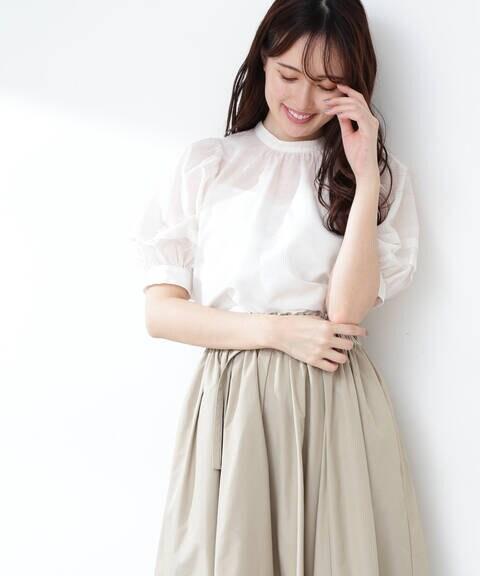 【道重さゆみさん着用 美人百花4月号掲載商品】コットンシルクシリーズ