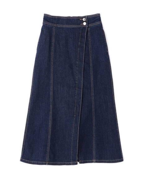 【先行予約3月中旬-3月下旬入荷予定】スプリングデニムスカート