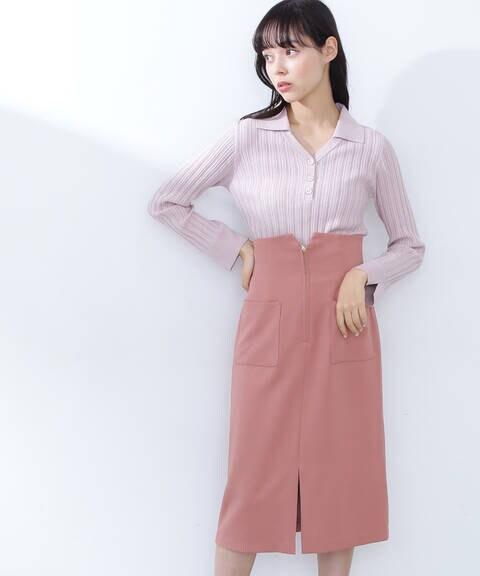 ハイウエストタイトスカート2