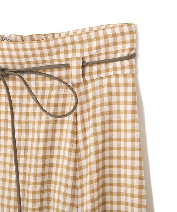 マーメイドギンガムスカート