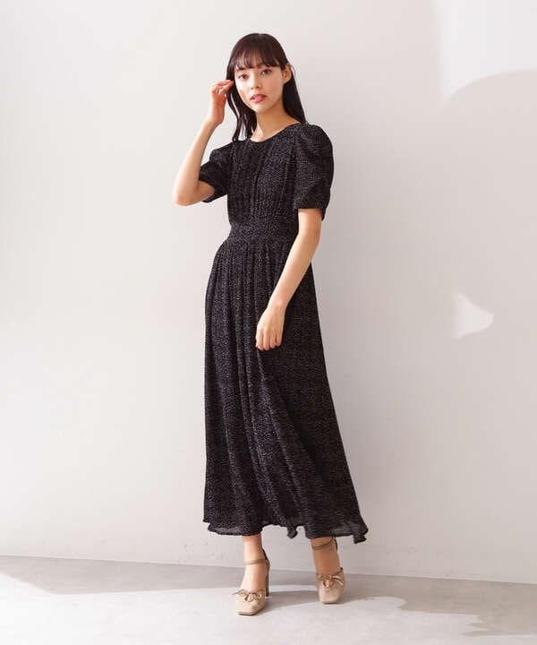 【宮田聡子さん着用 美人百花6月号掲載商品】パワショルワンピース