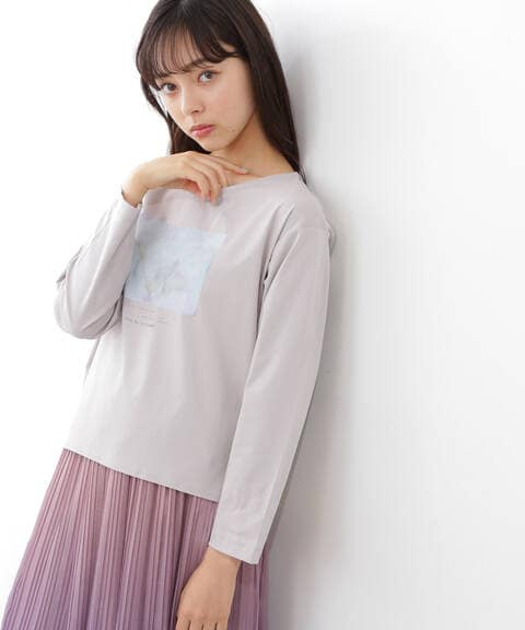 【先行予約2月中旬-2月下旬入荷予定】アートフォトロンTシャツ