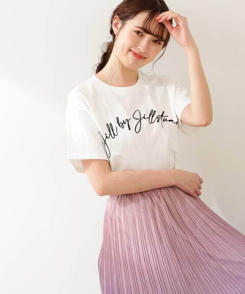 ビッグロゴTシャツ WEB限定カラー:モカ