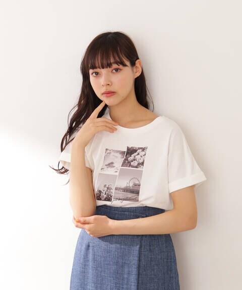パネルフォトTシャツ