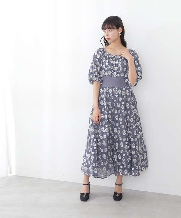 【道重さゆみさん着用 美人百花4月号掲載商品】スクエアメッシュパンプス