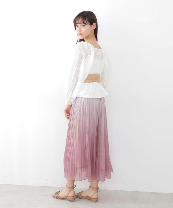 【道重さゆみさん着用 美人百花4月号掲載商品】チューブサンダル