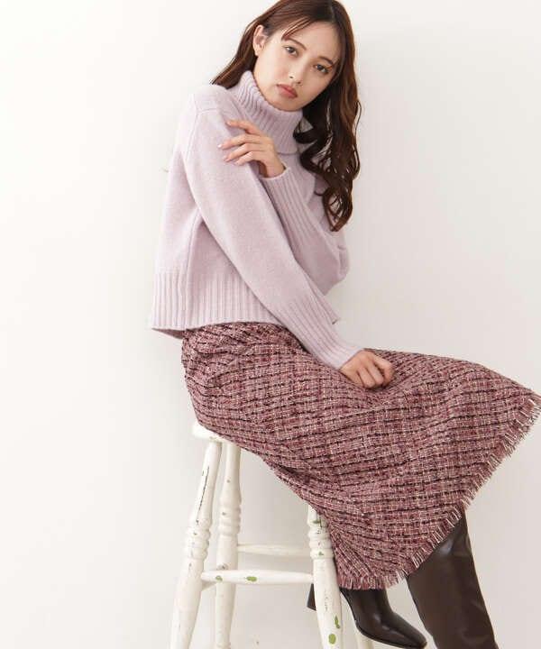 モールツイードスカート