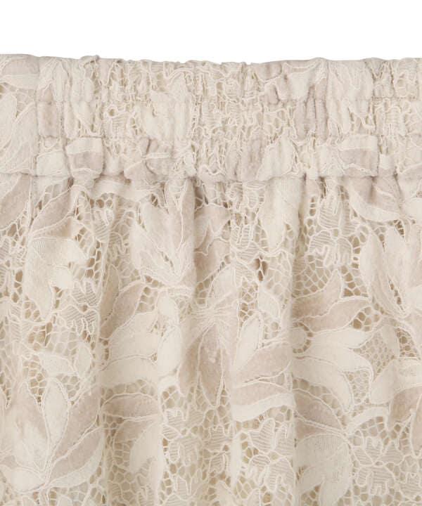 【先行予約10月中旬-10月下旬入荷予定】イレヘムモールレーススカート