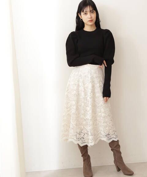 イレヘムモールレーススカート