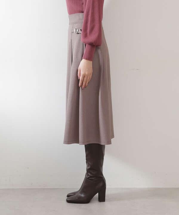 ウーリッシュフラノセットアップ スカート