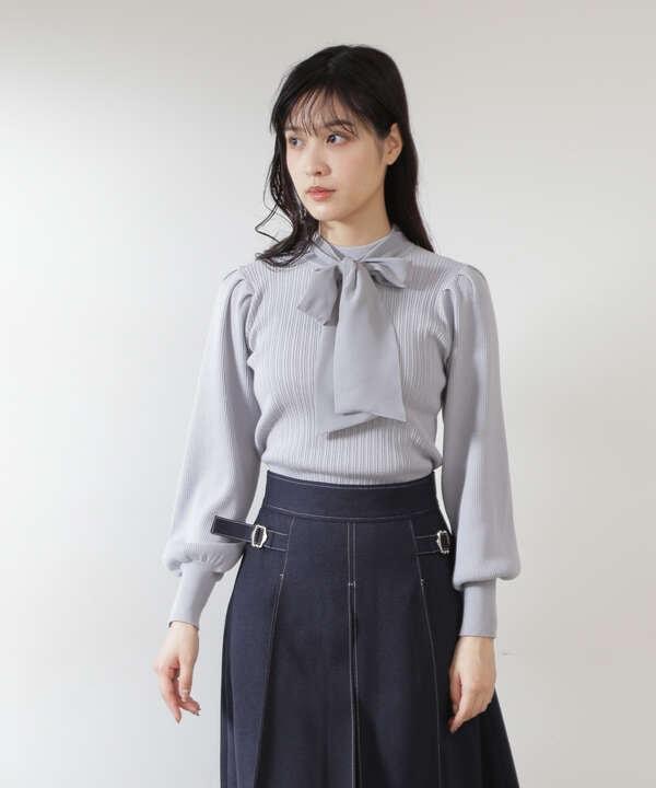 【道重さゆみさん着用 美人百花 10月号 掲載商品】リブニット