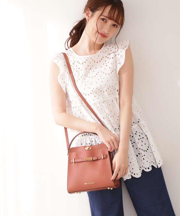 【宮田聡子さん着用 美人百花6月号掲載商品】シャインバートート