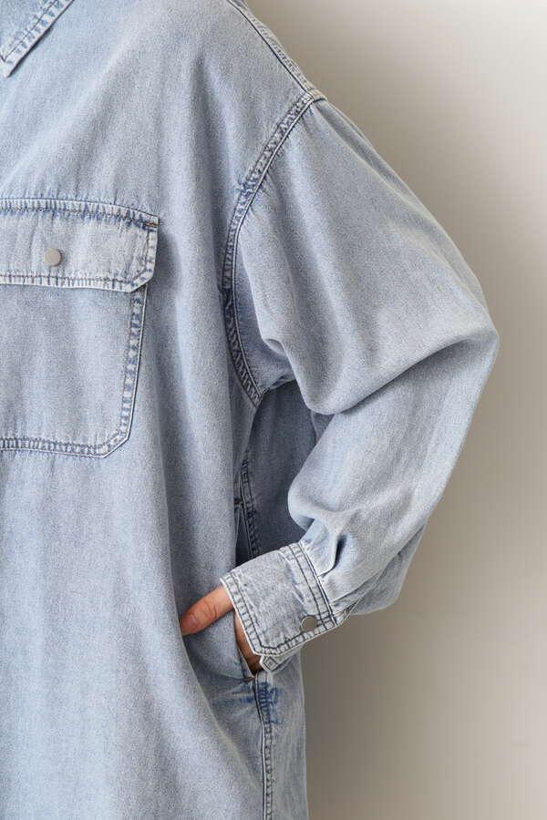 オーバーサイズワークシャツ