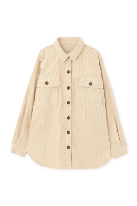 コーディロイビッグシャツ