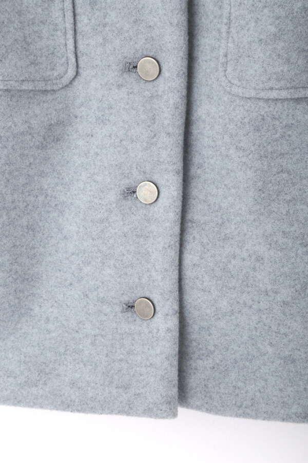 《Sシリーズ対応商品》フロントボタンハイウエストミニスカート