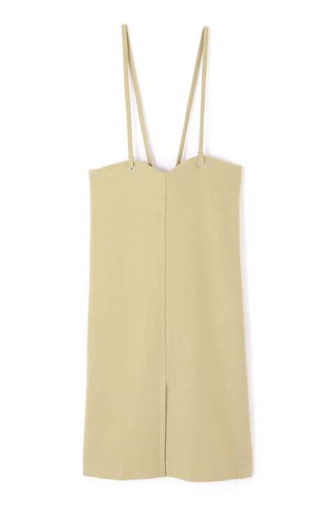 バックリボンナロージャンパースカート