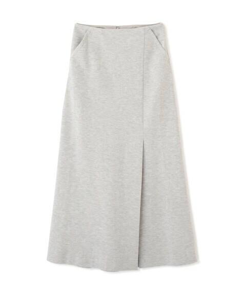 《Sシリーズ対応商品》ジャージスリットマキシスカート