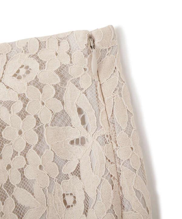 《Sシリーズ対応商品》三角マチレースマーメイドスカート