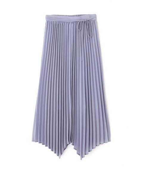 プリーツイレヘムマキシスカート